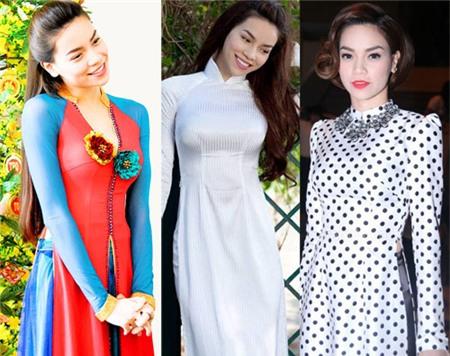 Ngắm các biểu tượng thời trang nữ tính áo dài - 1