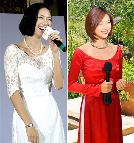 Ngắm các biểu tượng thời trang nữ tính áo dài - 11