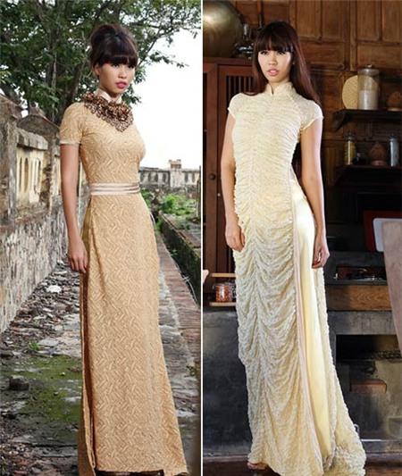 Ngắm các biểu tượng thời trang nữ tính áo dài - 13