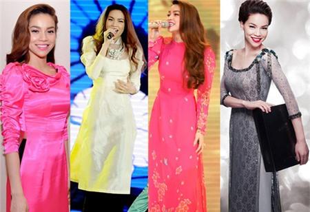 Ngắm các biểu tượng thời trang nữ tính áo dài - 2