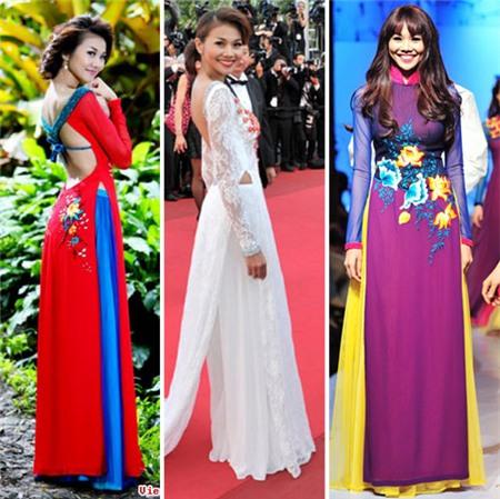 Ngắm các biểu tượng thời trang nữ tính áo dài - 3