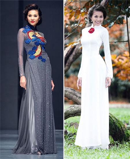 Ngắm các biểu tượng thời trang nữ tính áo dài - 4