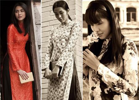 Ngắm các biểu tượng thời trang nữ tính áo dài - 6