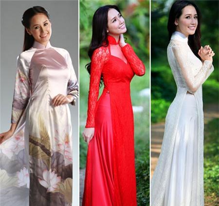Ngắm các biểu tượng thời trang nữ tính áo dài - 7