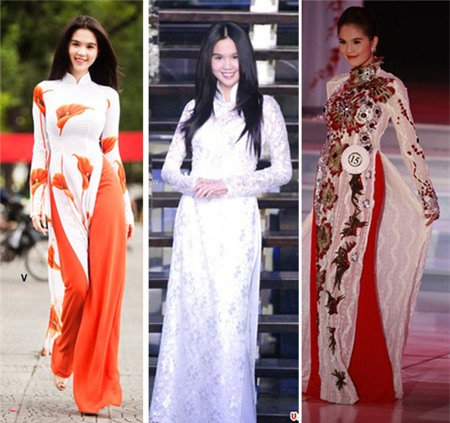 Ngắm các biểu tượng thời trang nữ tính áo dài - 9