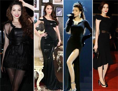 4 người đẹp bị váy đen 'thôi miên' - 10