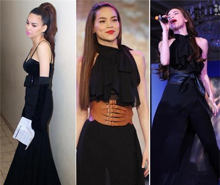 4 người đẹp bị váy đen 'thôi miên' - 11