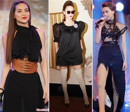 4 người đẹp bị váy đen 'thôi miên' - 12
