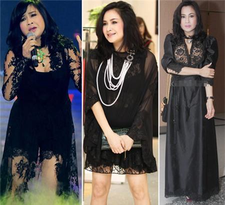 4 người đẹp bị váy đen 'thôi miên' - 14