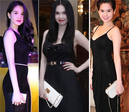 4 người đẹp bị váy đen 'thôi miên' - 2