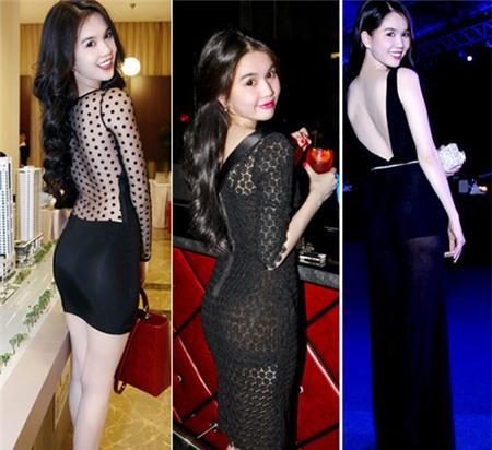 4 người đẹp bị váy đen 'thôi miên' - 3