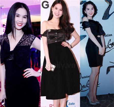 4 người đẹp bị váy đen 'thôi miên' - 4