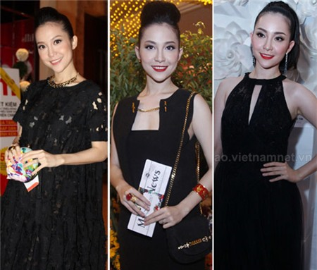 4 người đẹp bị váy đen 'thôi miên' - 5