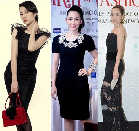 4 người đẹp bị váy đen 'thôi miên' - 6