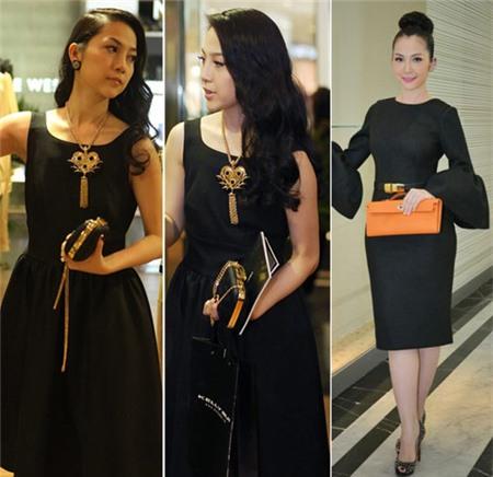 4 người đẹp bị váy đen 'thôi miên' - 7