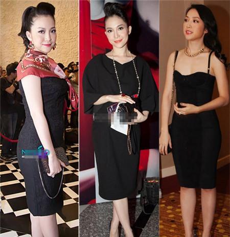 4 người đẹp bị váy đen 'thôi miên' - 8
