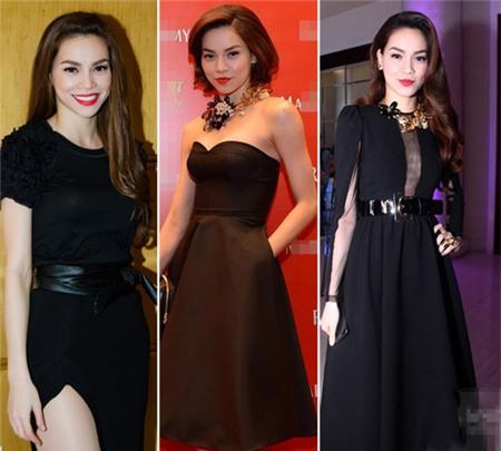 4 người đẹp bị váy đen 'thôi miên' - 9
