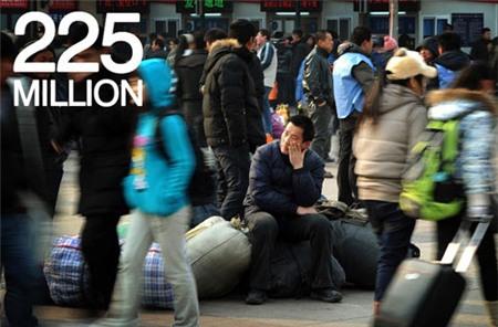 """Những con số """"khủng"""" về Tết ở Trung Quốc, Tin tức quốc tế, Tin tức trong ngày, tet o trung quoc, tet am lich, ve que an tet, tet nguyen dan, trung quoc, con so khung, bao, tin tuc, tin hot, tin hay, vn"""