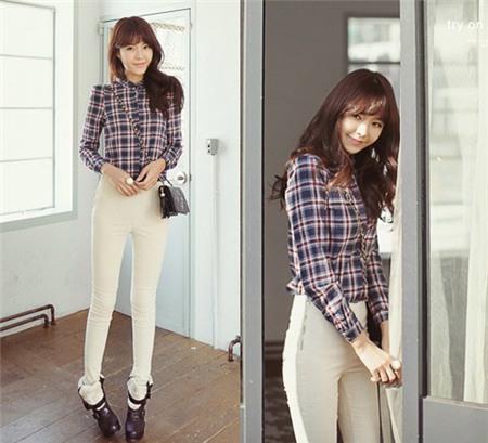 3 cách mix đồ đơn giản với quần skinny, Thời trang, Quan skinny, quan skinny mac voi ao gi, quan skinny jeans nu, quan skinny jeans dep