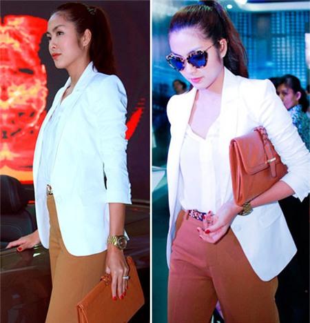 Làm mới 3 chiếc áo trắng thông dụng sáng tạo như sao Việt 17
