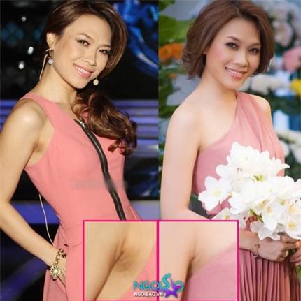 Ngỡ ngàng hình ảnh thực của mỹ nhân Việt khi chưa photoshop  3