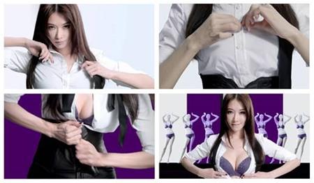 """Lâm Chí Linh bị chỉ trích vì cởi áo """"phơi"""" nội y 1"""