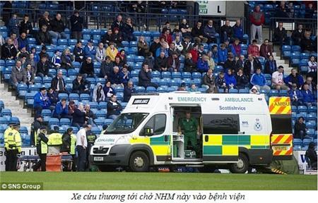 CĐV đột tử trên sân Rugby Park