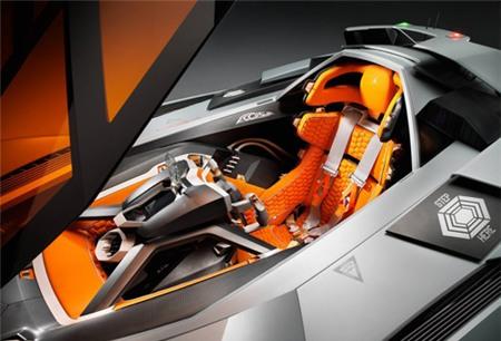 Lamborghini Egoista Sieu Xe Với Cảm Hứng May Bay Chiến đấu