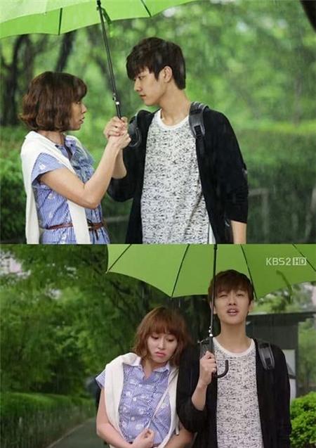Tình yêu bùng cháy giữa trời mưa trong phim Hàn - 7