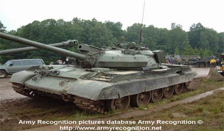 Một phiên bản xe tăng T-55 của Nga