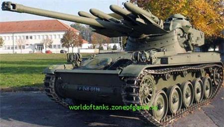 Một phiên bản xe tăng AMX-13PA3 của Pháp