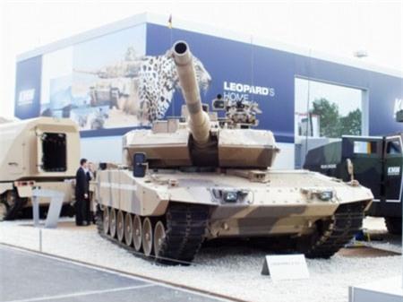 Xe tăng Leopard-2A7 của Đức