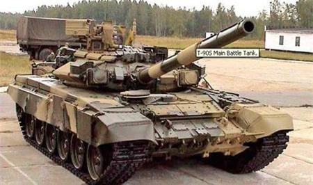 Cận cảnh xe tăng T-90S của Nga