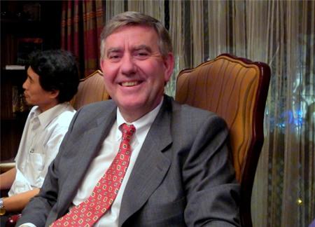 Ông Irial Finan, Phó Chủ tịch điều hành Coca-Cola (Ảnh: BD).