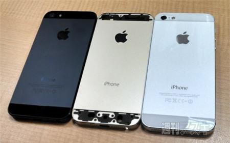 """Cận cảnh chiếc iPhone 5S màu rượu sâm banh đầy """"lịch lãm"""""""