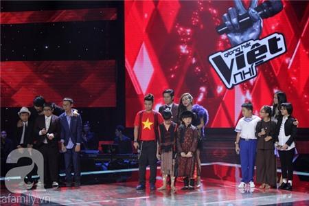 The Voice Kids: Quang Anh, Mỹ Chi, Ngọc Duy thẳng tiến Chung kết 1