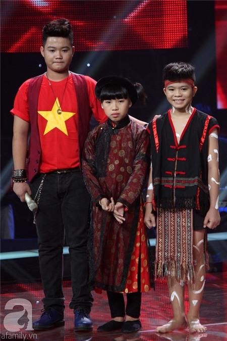 The Voice Kids: Quang Anh, Mỹ Chi, Ngọc Duy thẳng tiến Chung kết 28