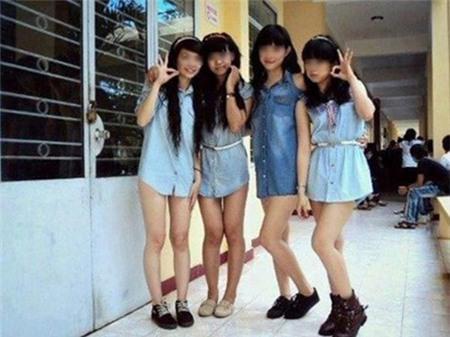 Thời trang học đường khó coi của nữ sinh - 6