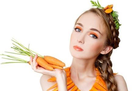 Đẹp da, óng tóc nhờ cà rốt - 5