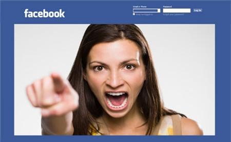 Cuộc chiến chồng vợ trên facebook 2