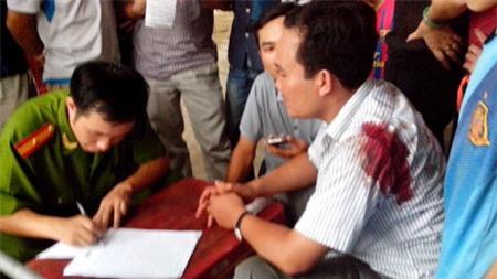 Vụ CSGT tại tỉnh Thanh Hóa nổ súng bắn người vi phạm giao thông trên đường.