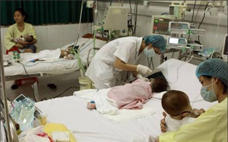 Viêm não Nhật Bản là bệnh thường gặp nhiều ở trẻ em và có tỷ lệ tử vong cao (Ảnh: KT)