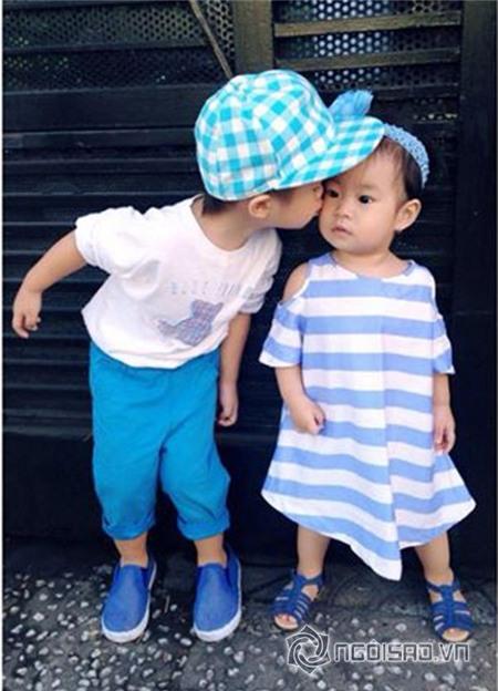 'Chấm điểm' độ sành điệu của các nhóc tỳ nhà sao Việt