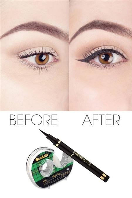 14 mẹo nhỏ giúp bạn kẻ eyeliner mỏng, đẹp, sắc như tranh vẽ 3