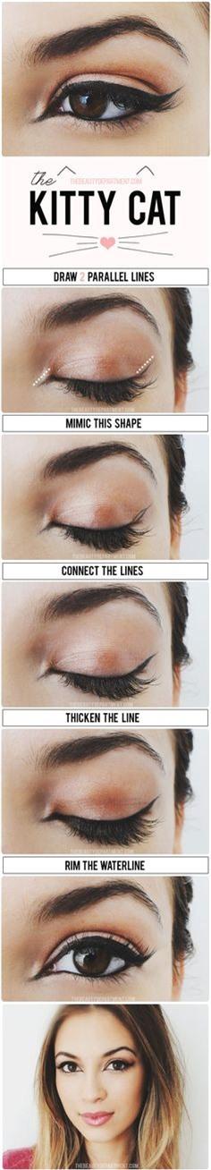 14 mẹo nhỏ giúp bạn kẻ eyeliner mỏng, đẹp, sắc như tranh vẽ 4