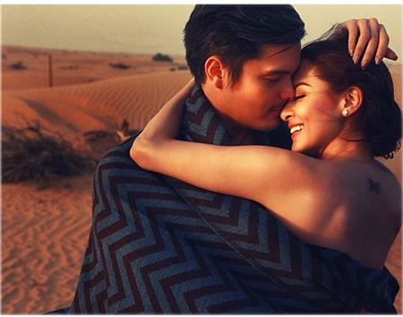 'Cặp tiên đồng ngọc nữ Phillipines' khoe ảnh trăng mật cực lãng mạn