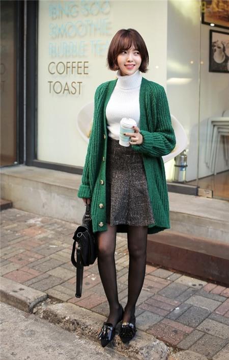 Nàng vai ngang nên mặc gì cho những ngày đi làm lạnh lẽo 12