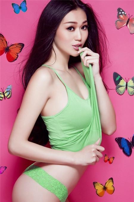 """Khánh My: """"Đàn ông thích dòm ngực phụ nữ là bình thường"""" - 1"""