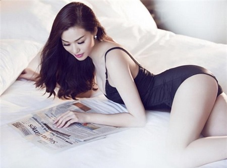 """Khánh My: """"Đàn ông thích dòm ngực phụ nữ là bình thường"""" - 2"""