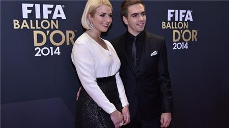 Những bóng hồng trong lễ trao giải Quả bóng vàng FIFA 2014